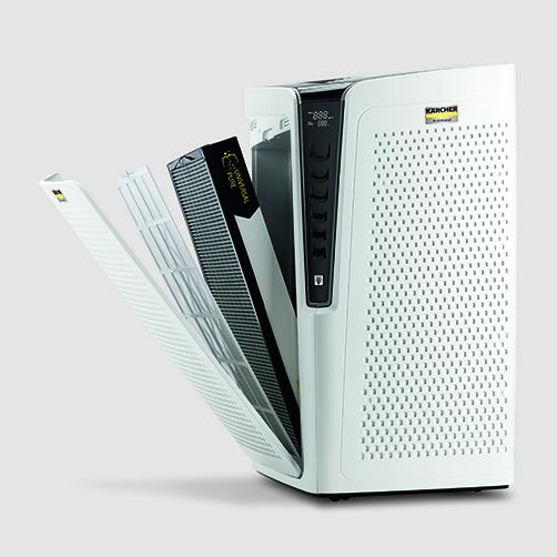 Air Purifier Oczyszczacz powietrza AF 100: 5 opcji filtrowania dla różnych rodzajów zanieczyszczeń