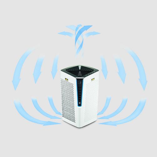 Air Purifier Oczyszczacz powietrza AF 100: Przeznaczony do pomieszczeń o wielkości do 100 m²