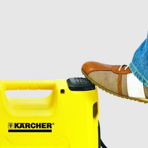 Pompa ogrodowa BP 3 Garden: Obsługa wyłącznika stopą bez potrzeby schylania się
