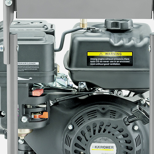 HD 7/20 G Classic: Przechowywanie akcesoriów