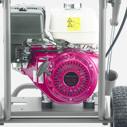 HD 8/20 G: Praca urządzenia niezależna od dostępu do sieci elektrycznej.