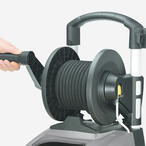 HDS 5/11 UX Plus: Zintegrowany bęben na wąż