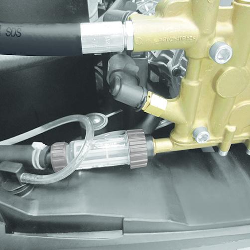 HDS 9/18-4 M: Bezpieczne użytkowanie