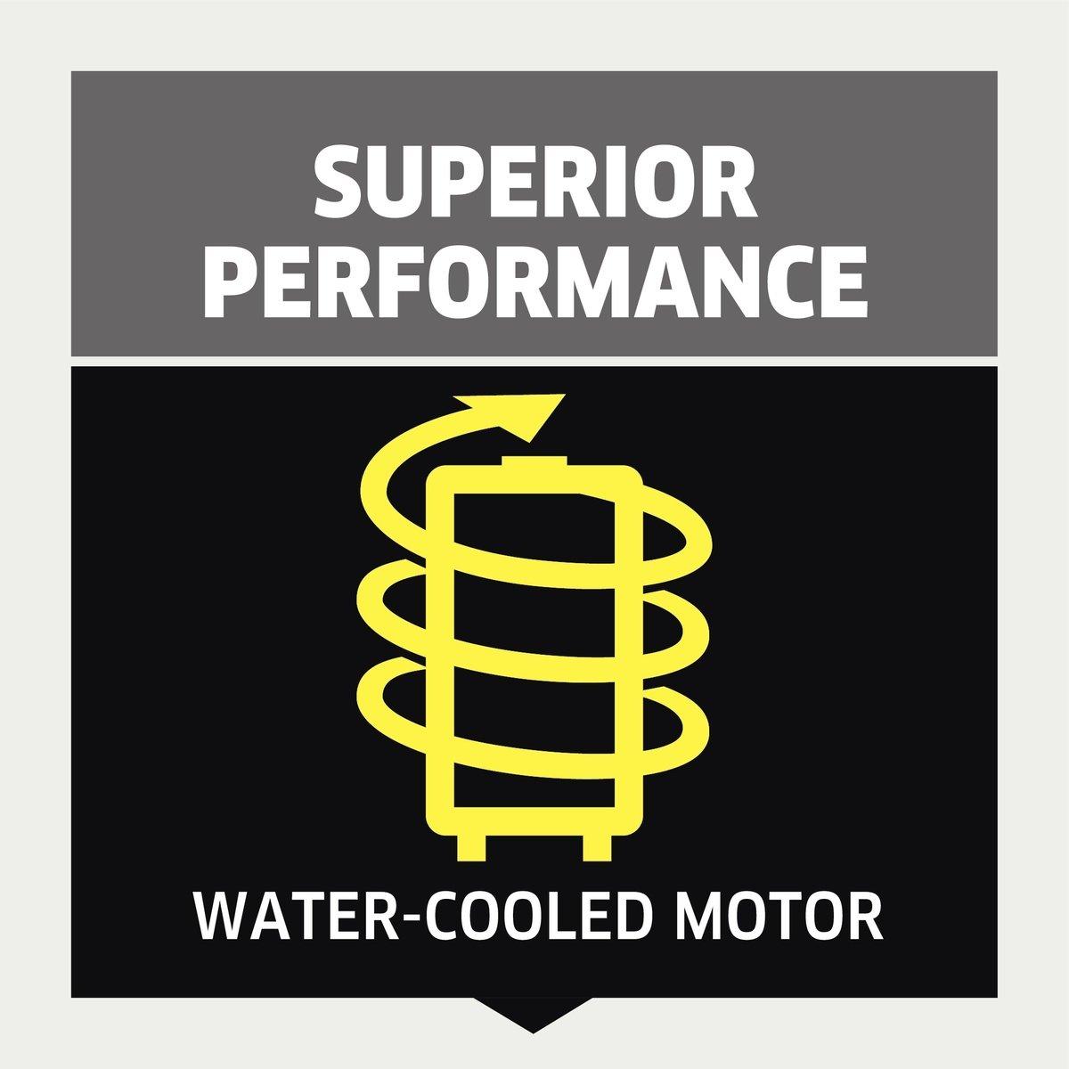 K 5 Compact: Silnik chłodzony wodą