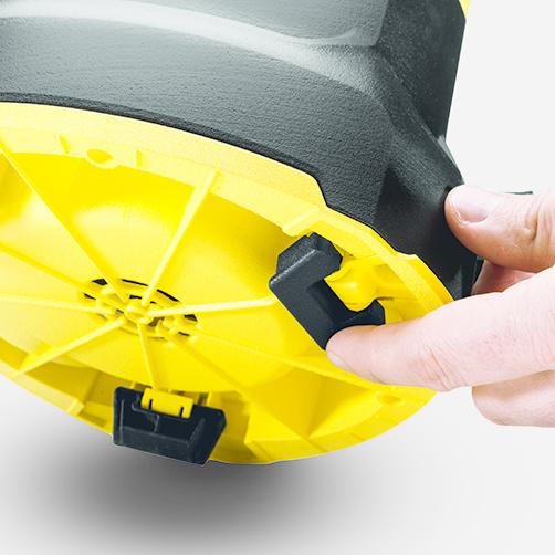 Pompa zanurzeniowa z zasysaniem płaskim SP 6 Flat Inox: Składane nóżki