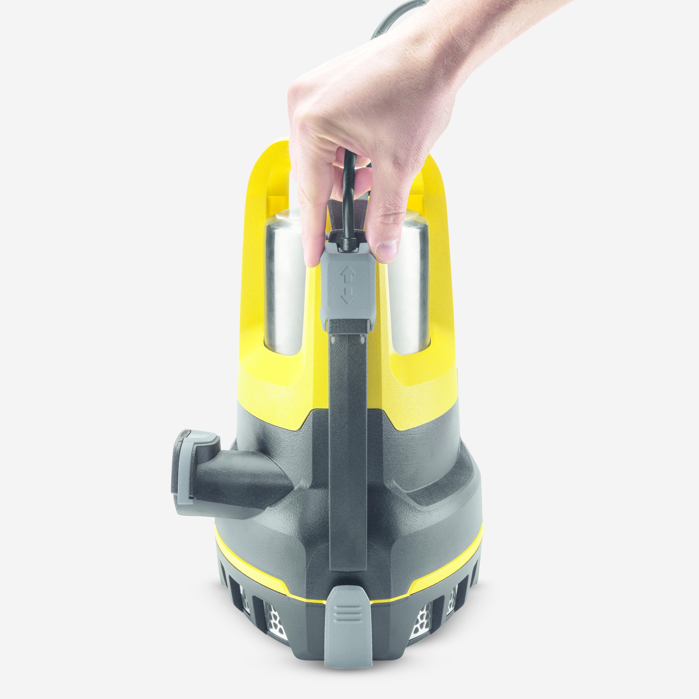 Pompa zanurzeniowa z zasysaniem płaskim SP 6 Flat Inox: Czujnik poziomu wody