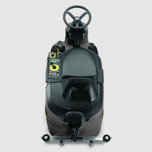 szorowarka-z-fotelem-dla-operatora-karcher-b-90-r-classic-bp-1.161-306.0: Łatwa obsługa dzięki panelowi sterowania EASY