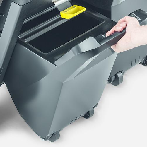 KM 90/60 R Bp Pack Adv: Tact: W pełni automatyczny system oczyszczania filtra