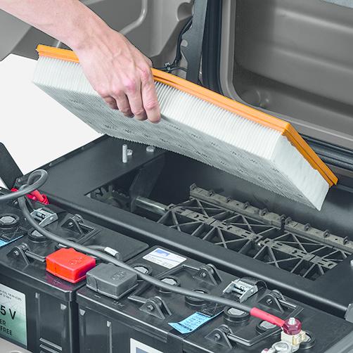 KM 90/60 R Bp Pack Adv: Koncepcja obsługi EASY Operation